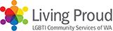 Living Proud logo