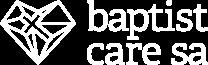 Baptist Care SA White Logo